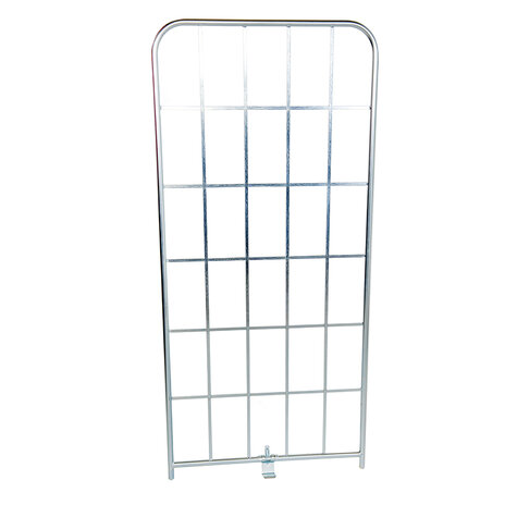 metal sidepanel, 1.650 x 790 mm, for rollcages, Cr 3 blue...