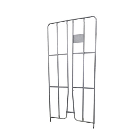 metal sidepanel, 1.500 x 790 mm, for rollcages, hot dip