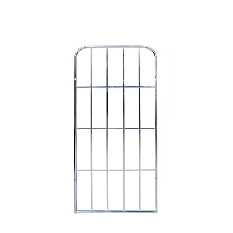 metal backwall, 1.340 x 650 mm, for rollcages, Cr 3 blue...