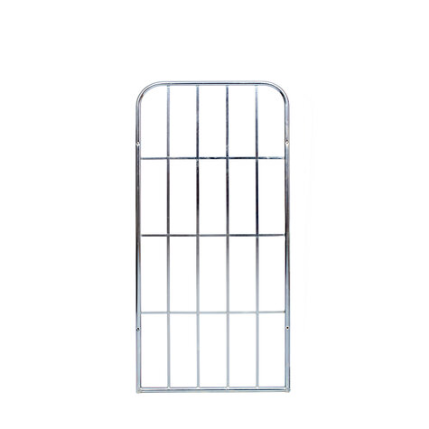 metal backwall, 1.440 x 650 mm, for rollcages, Cr 3 blue...