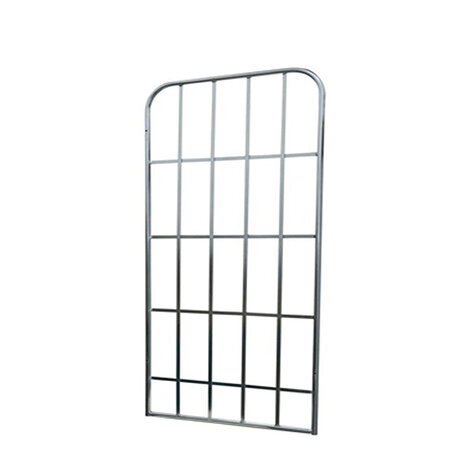 metal backwall, 1.450 x 650 mm, for  rollcages, Cr 3 blue...