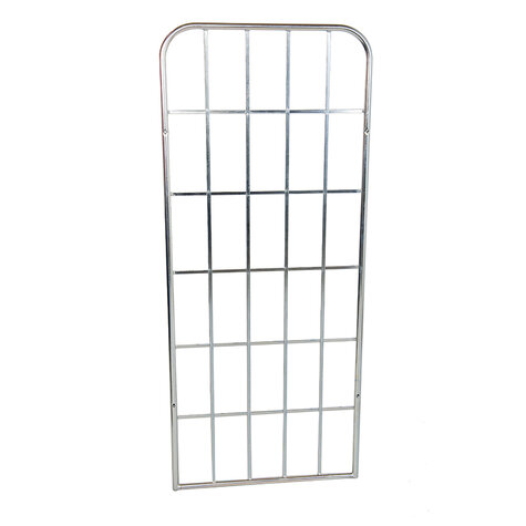 metal backwall, 1.640 x 650 mm, for rollcages, Cr 3 blue...