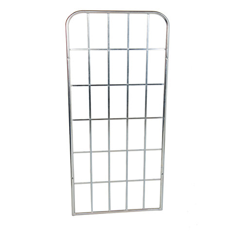 metal backwall, 1.640 x 667 mm, for rollcages, Cr 3 blue...