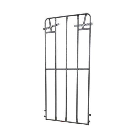 metal backwall, 1.440 x 620 mm, for rollcages, hot dip