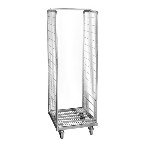 metal rollcage, 600 x 600 mm, type 2-sided