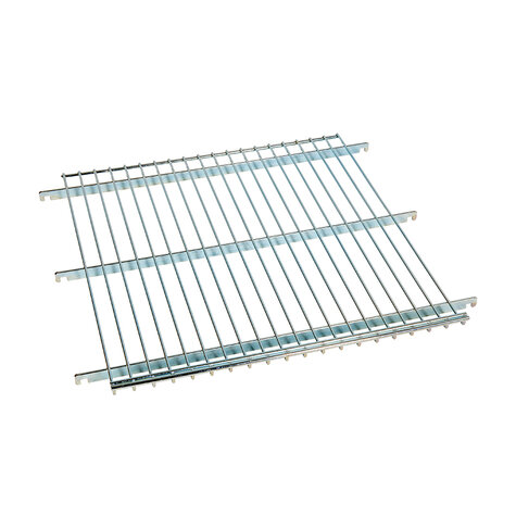wire shelf, for metal rollcage 600 x 600 mm, 20 mm...