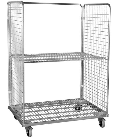 metal rollcage, 800 x 1200 mm, type 2-sided