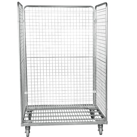 metal rollcage, 800 x 1200 mm, type 3-sided
