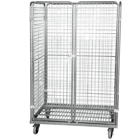 metal rollcage, 800 x 1200 mm, type 4-sided