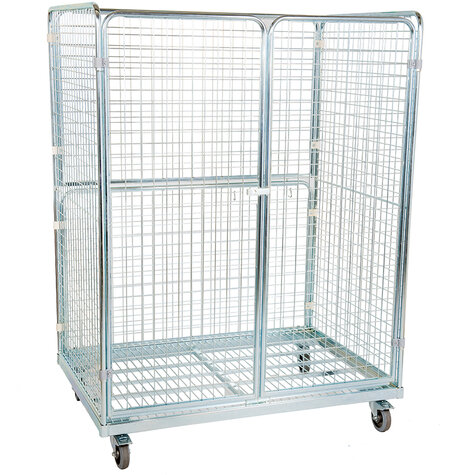 metal rollcage, 950 x 1350 mm, type 4-sided