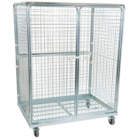 metal rollcage, 950 x 1350 mm, type 5-sided