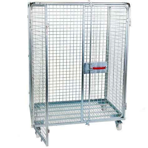 metal rollcage, 800 x 1200 mm, type 5-sided ANTI-THEFT
