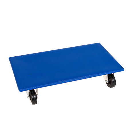 furniture dolly, type 300 x 600 mm, ø 100 solid rubber...