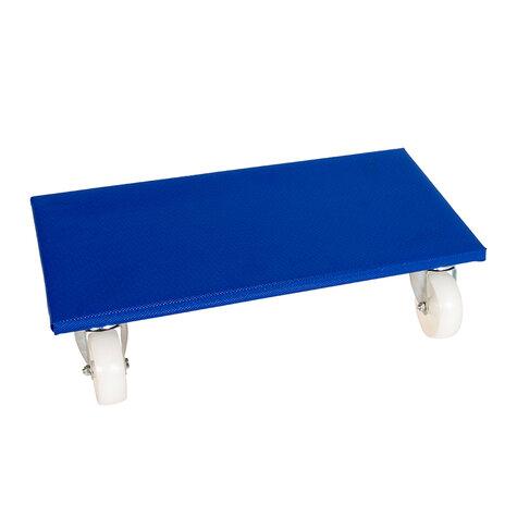 furniture dolly, type 300 x 600 mm, ø 100 mm polypropylene castors
