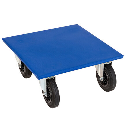 furniture dolly, type 600 x 600 mm, ø 200 solig rubber...