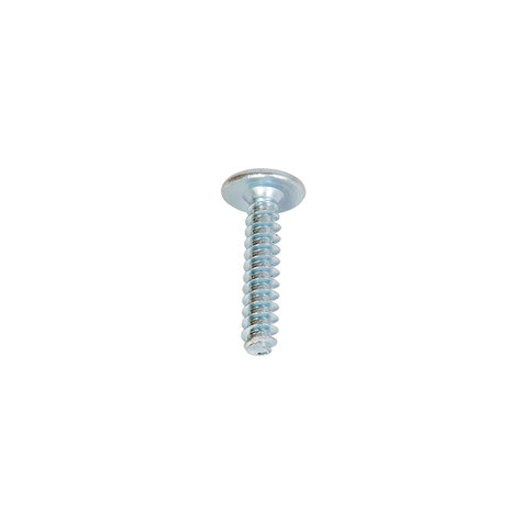 screw for castor and clamp assembling, Cr 3 blue zinc