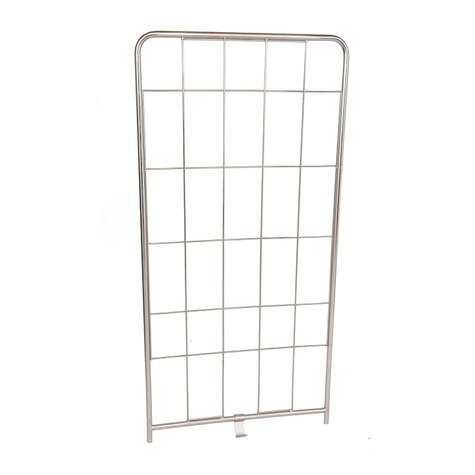 stainless steel sidepanel, 1.530 x 790 mm, for rollcage
