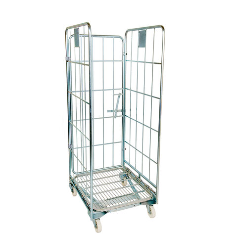 nestable rollcage, 700 x 800 mm, with 1 x metal base,...