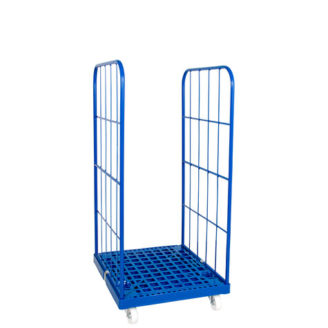 rollcage with plastic base, type 724 x 815 mm, type 2-sided