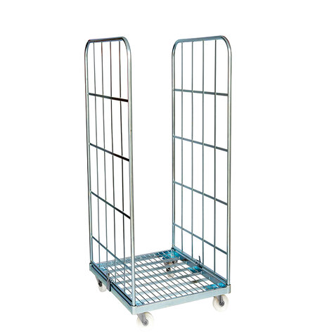 rollcage with metal base, type 710 x 800 mm, type 2-sided