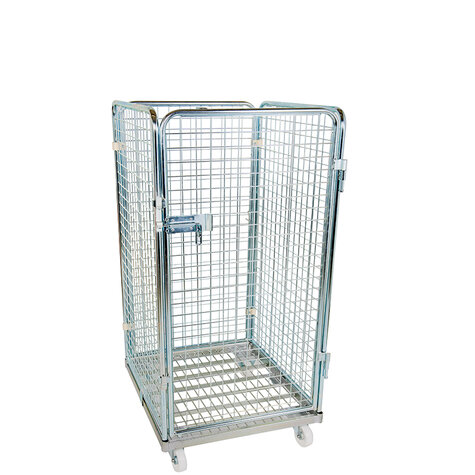 rollcage with metal base, 710 x 800 mm, type 4-sided