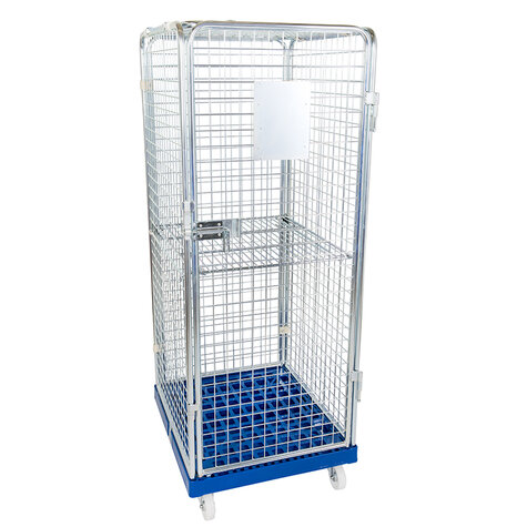 rollcage with plastic base, 724 x 815 mm, type 5-sided...