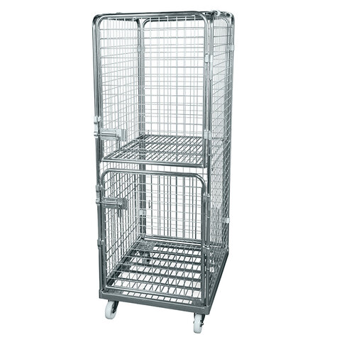 rollcage with metal base, 710 x 800 mm, type 5-sided...