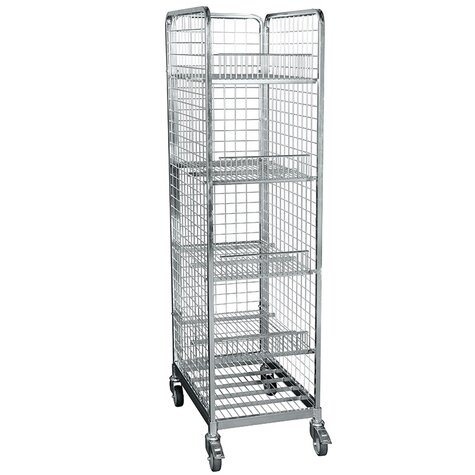 metal rollcage, 460 x 640 mm, type 3-sided