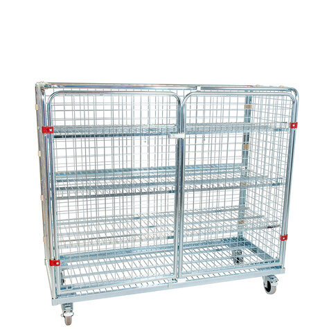 metal rollcage, 620 x 1500 mm, without stacking frame,...