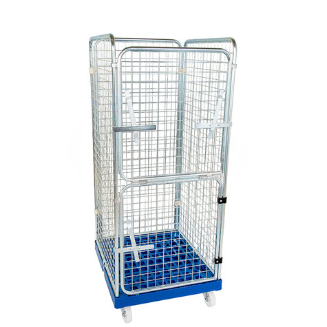 rollcage with plastic base, 724 x 815 mm, type 4-sided,...