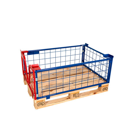 mesh stacking frame, usable height 400 mm, powder coated