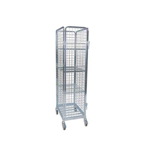 rollcage with metal base, 460 x 640 mm, type 4-sided