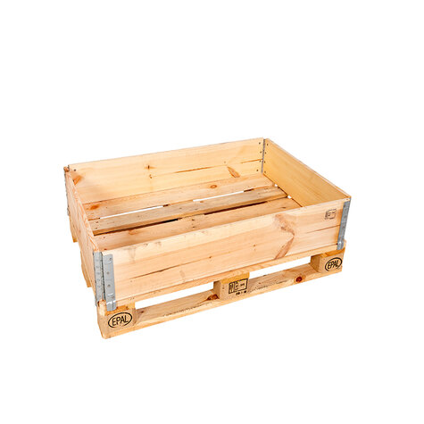 wooden stacking frame, usable height 195 mm