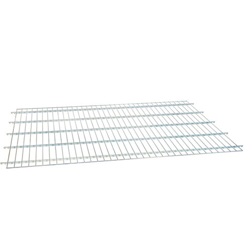 wire shelf, for metal rollcage 800 x 1600 mm, Cr 3 blue zinc