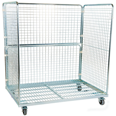 metal rollcage, 800x 1600 mm, type 3-sided