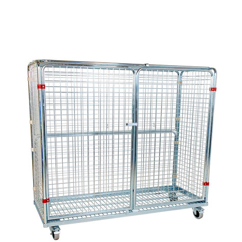 metal rollcage, 620 x 1500 mm, type 5-sided, ANTI-THEFT