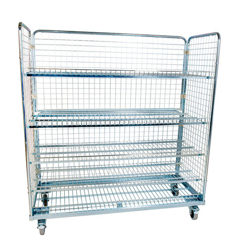 metal rollcage, 620 x 1500 mm, type 3-sided