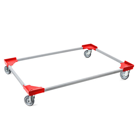 transportroller, 800 x 1.200 mm, type steel frame with...