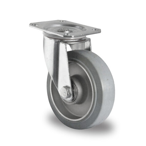 swivel castor, ø 125 mm