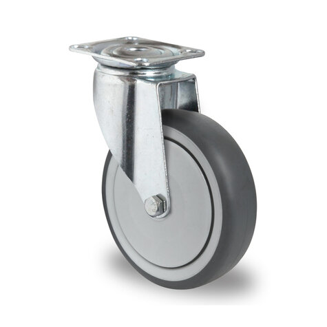 swivel castor, ø 150 mm