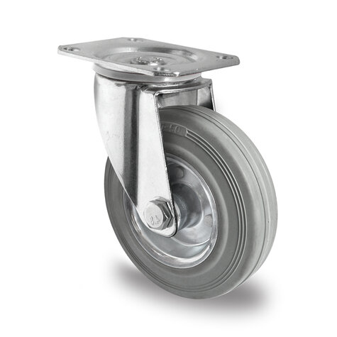 swivel castor, ø 200 mm