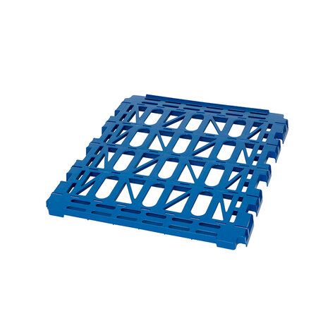 Plastic shelf, for rollcage 720 x 810 mm, type 4-sided