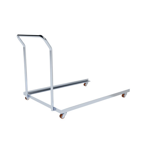 angle frame 1206 x 833 mm, Cr 3  electro zink plated, with wheels and handle